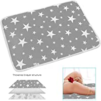 "Changing Pad Changing Mat to Change Diaper (20""x28"") Waterproof Sheet for Any Places for Home Travel Bed Play Stroller Crib Car - Mattress Pad Cover for Boys and Girls"