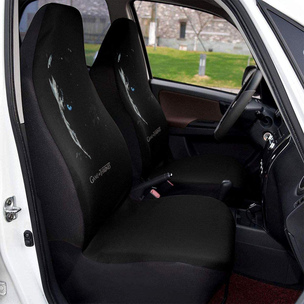StarW Game of Thrones Night King Autositzbezug Insgesamt umgeben Universal Fit Autositzbezug 1PCS /& Acirc;