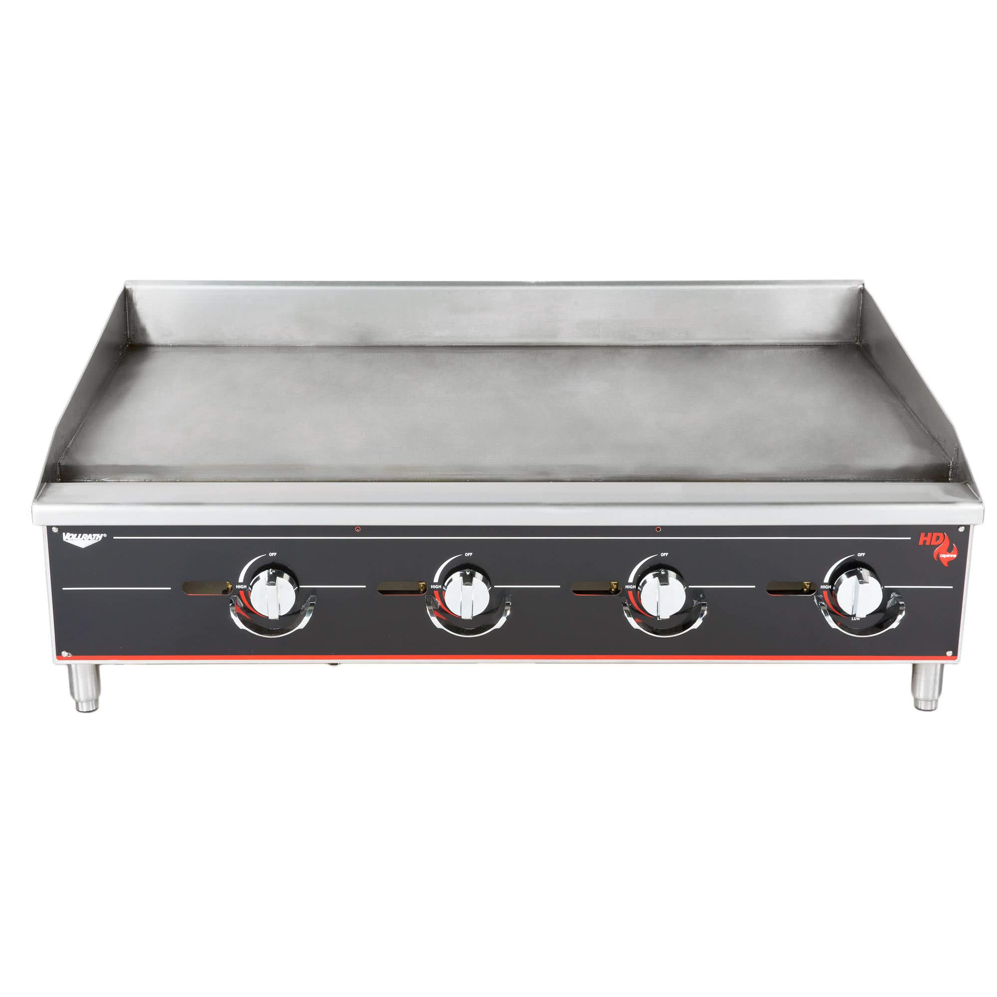 TableTop King 948GGM Cayenne 48'' Heavy Duty Countertop Griddle with Manual Controls - 120,000 BTU