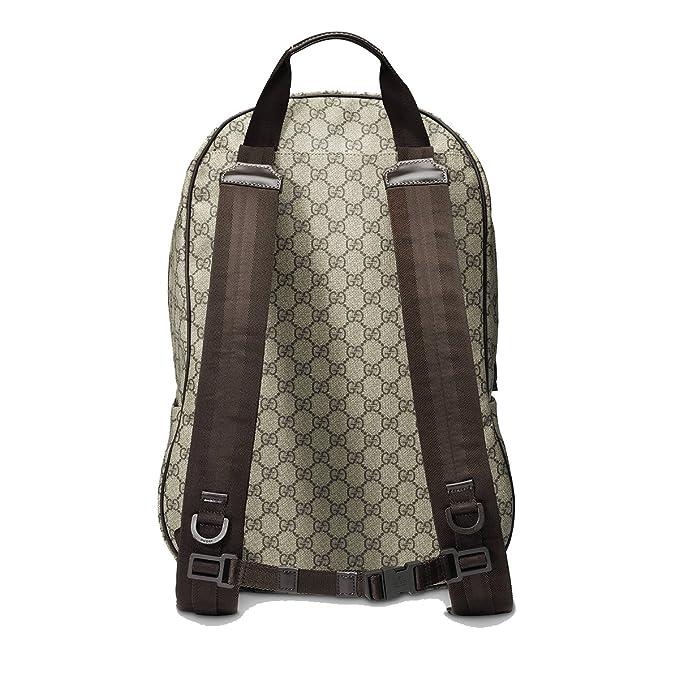 Gucci Supreme Canvas entrelazados G Logo Mochila Marrón 223705: Amazon.es: Ropa y accesorios