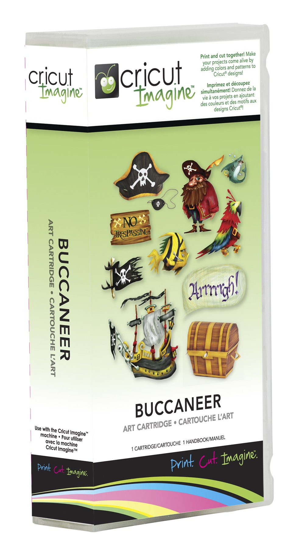 Cricut 2001036 Imagine Art Cartridge, Buccaneer