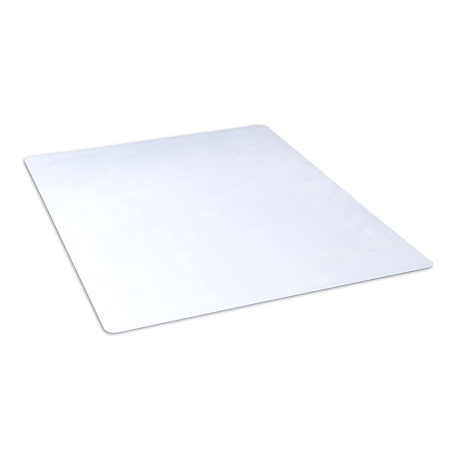 "Dimex 46""x 60"" Clear Rectangle Office Chair Mat For Hard Floors (1532630)"