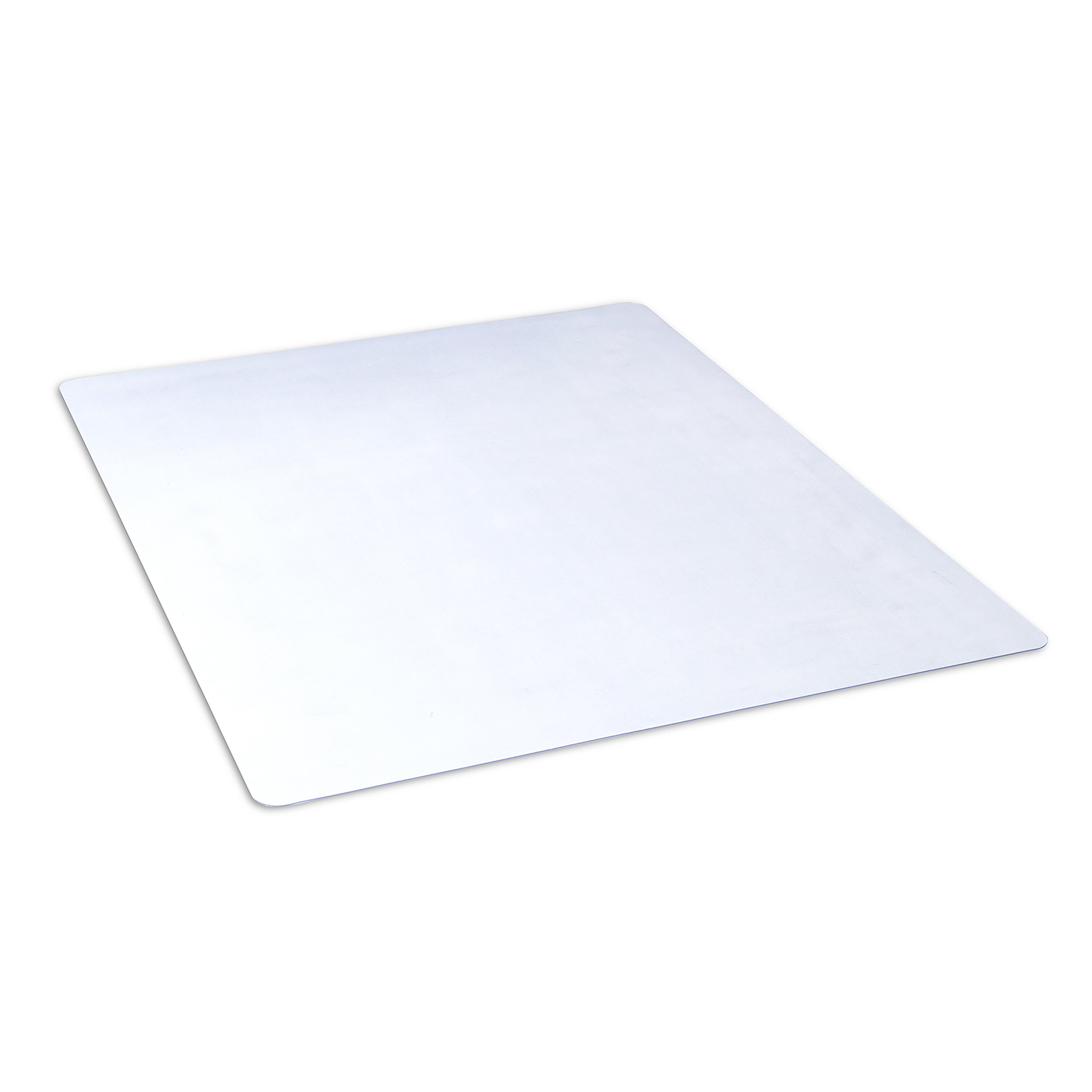 Dimex 46''x 60'' Clear Rectangle Office Chair Mat For Hard Floors (1532630) by Dimex