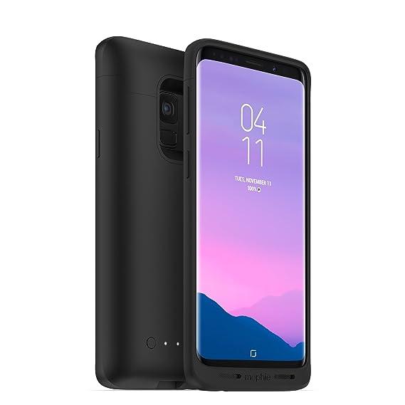 fb05cf34648 Mophie Juice Pack - Funda Protectora con Batería Inalámbrica para Samsung  Galaxy S9 Plus - Color Negro: Amazon.com.mx: Electrónicos