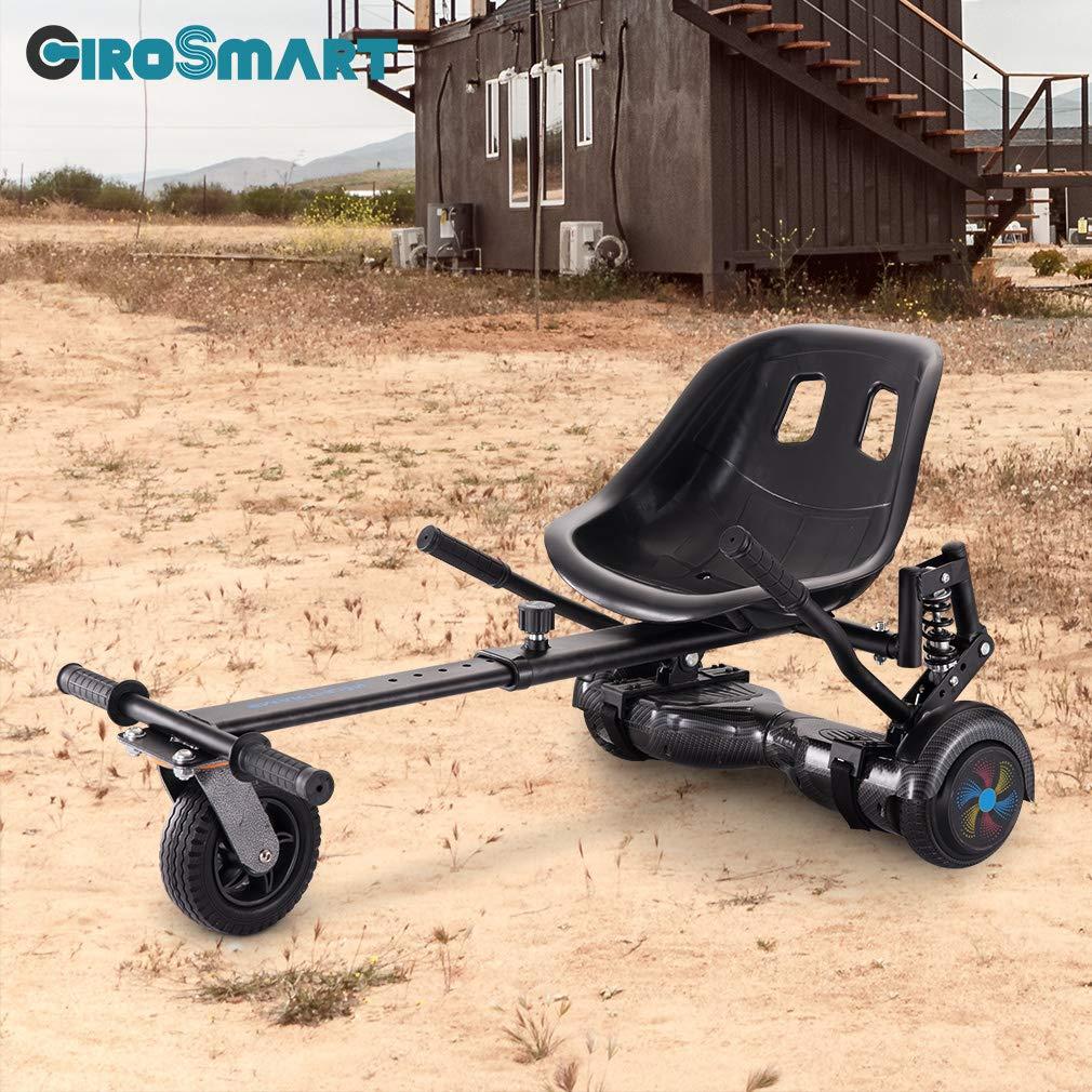 GiroSmart HoverKart Go Kart Extension de si/ège pour Scooter /à Auto-/équilibrage de 6 /à 10 Pouces