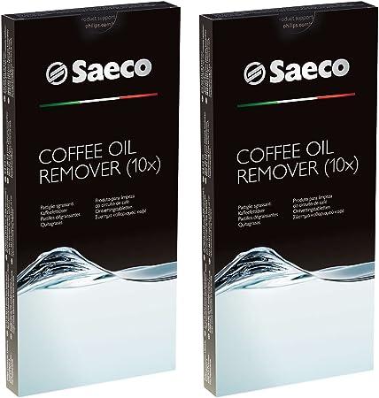 4 x PHILIPS SAECO Kaffeefettlöser CA6704 Reinigungstabletten