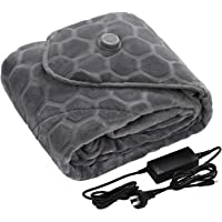 Dreamaker Vantec Graphene Heating Throw, Fleece, Snuggle Blanket with Overheat Protection   Made with Plush feel for…