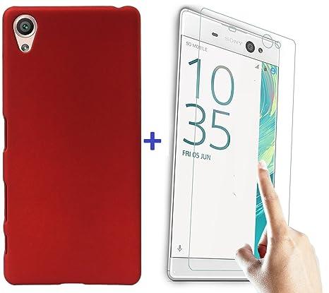 hot sale online 244c3 c14f9 Yunikase Sony Xperia XA Ultra Hard Matte Finish Back: Amazon.in ...