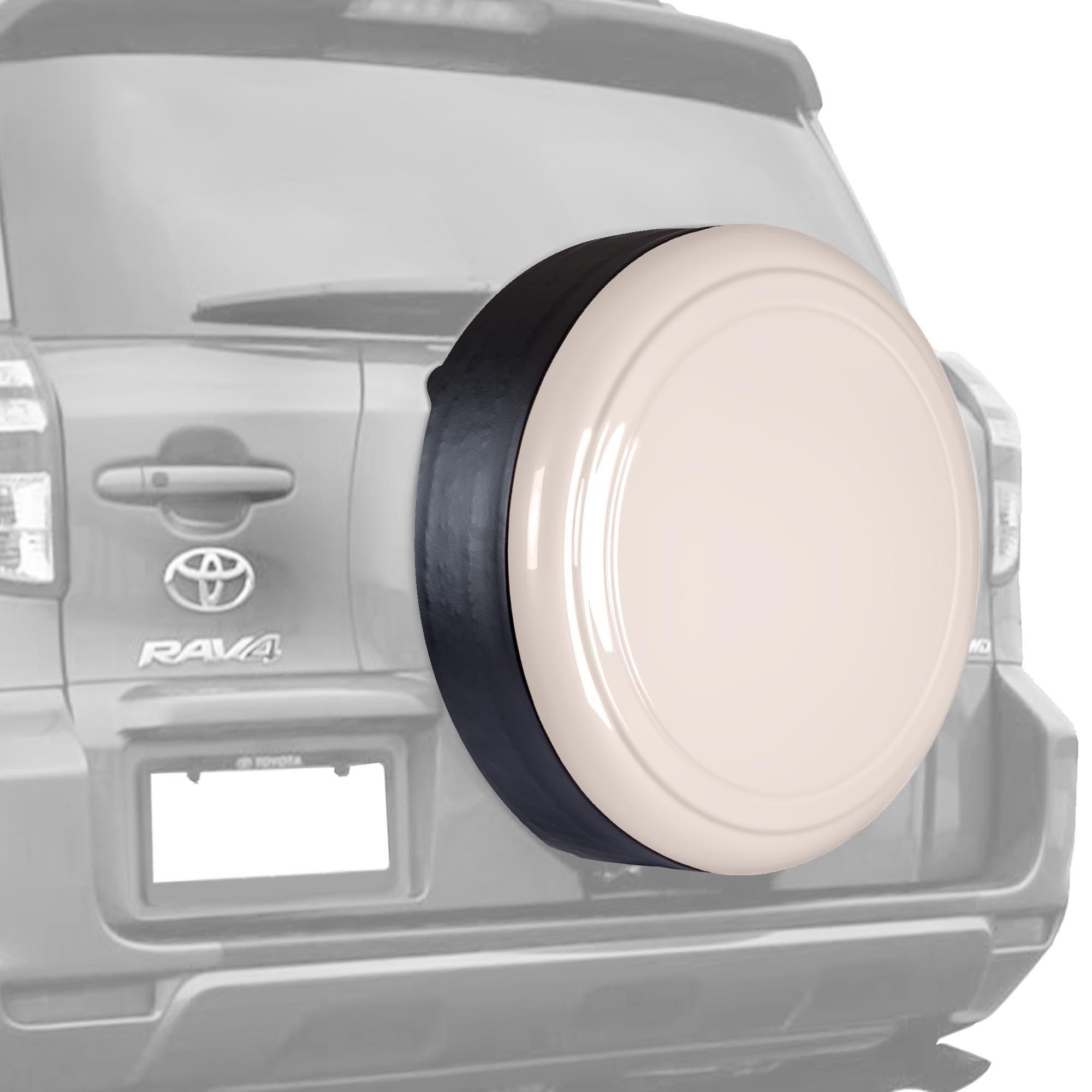 06-12 Toyota RAV4 - 28'' Color Matched Rigid Tire Cover (Plastic Face & Vinyl Band) - Savannah Metallic