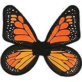 Fun World Satin Adult Butterfly Orange Wings