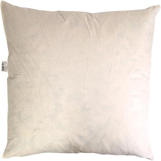 Guru-Shop Cojín de Relleno de Plumas de Pato - Angulada, Tamaño: 40 x 40 cm, Cojín de Impresión de Bloque