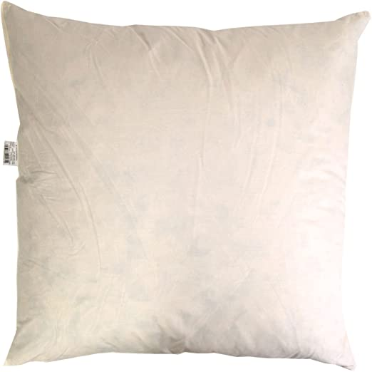Guru-Shop Relleno de Cojín con Plumas de Pato - Angular, Tamaño: 40x60 cm, Fundas de Cojín con Estampado de Bloques