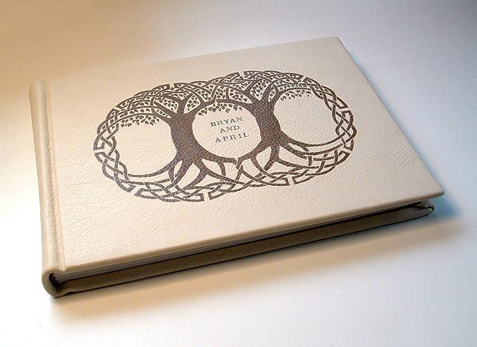 amazon com personalized wedding album guest register guest book