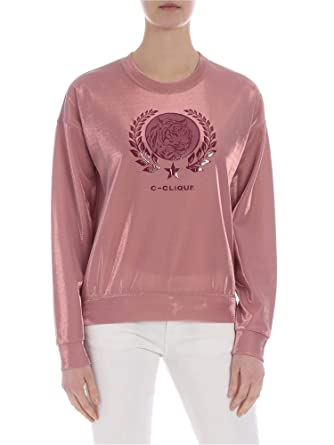 a5cc701b79a Image Unavailable. Image not available for. Color: Pinko Women's  1C101u7382p51 Pink Polyester Sweatshirt