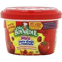 Chef Boyardee Mini-Bites Spaghetti Rings & Meatballs - 12 pack