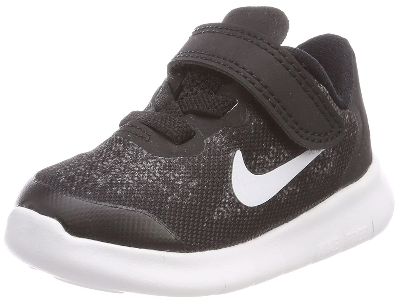 TALLA 18.5 EU. Nike Free RN 2017 (TDV), Zapatillas de Gimnasia para Niños
