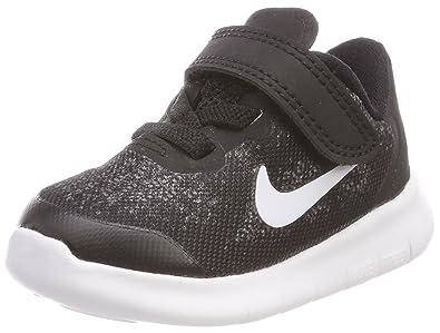 Nike - Free RN 2017 (Tdv) - Chaussures - Mixte Enfant -Noir (