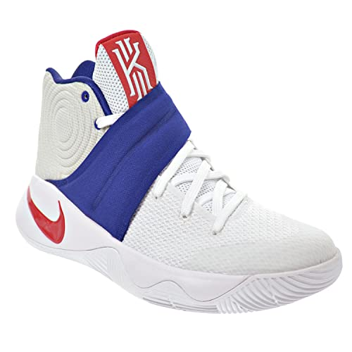 new concept 696c1 32da4 Nike Kyrie 2 quot 4th of July Men s Shoes White University Red Deep Royal
