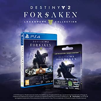Destiny 2: The Forsaken Legendary Collection Limited Edition with