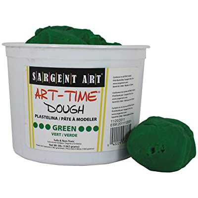 Sargent Art 85-3366 3-Pound Art-Time Dough, Green: Arts, Crafts & Sewing