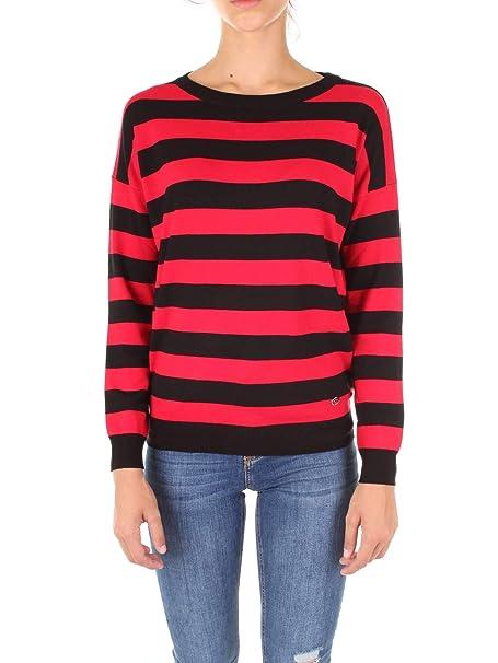 6499536f857a0f Gaudi jeans 821BD53005 Maglioncino Donna: Amazon.it: Abbigliamento