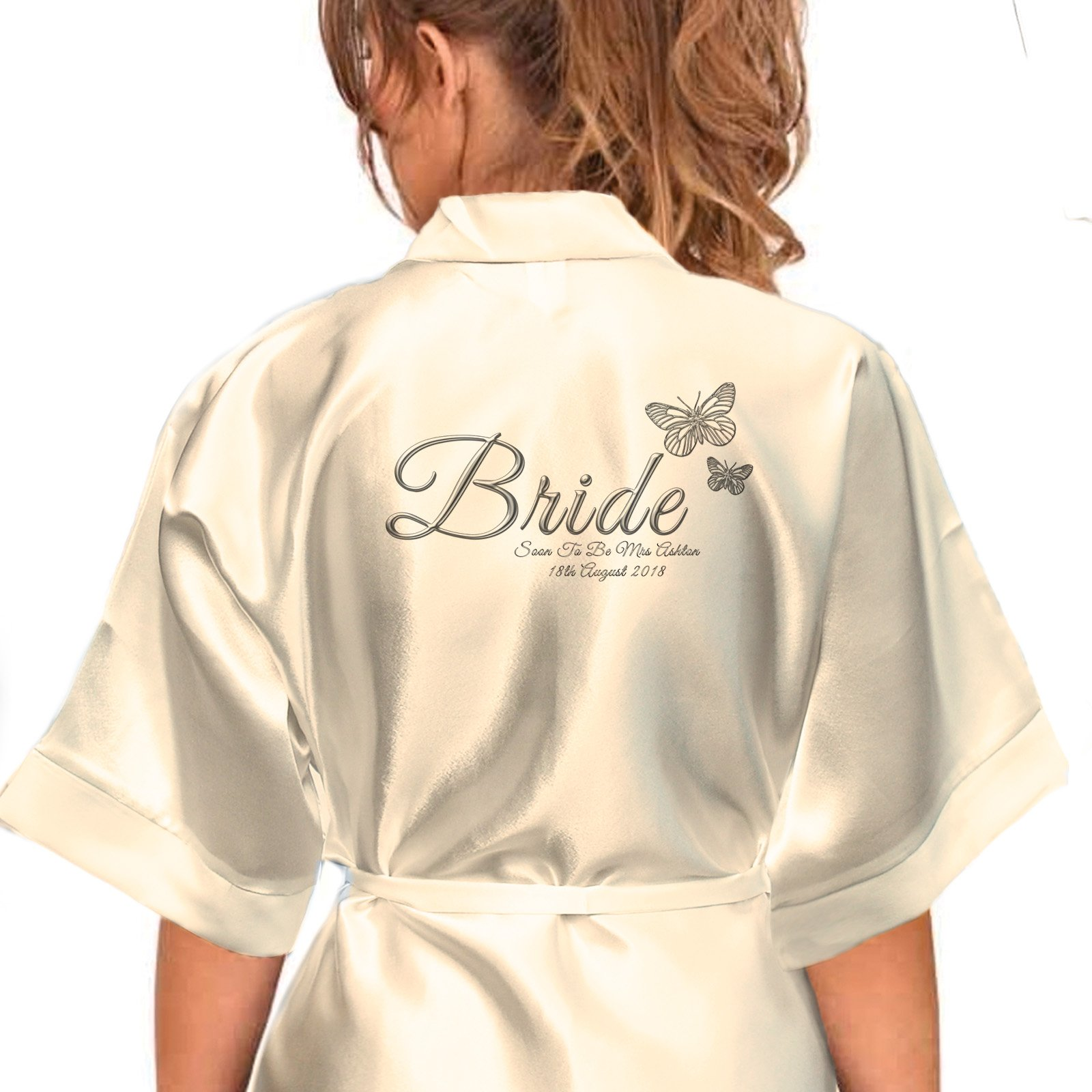 Bride Dressing Gowns: Amazon.co.uk
