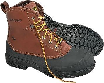 Work Boots, Steel Toe Type
