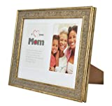 8x10 Frame for Two 4x6 Photo - White Mat with Cream