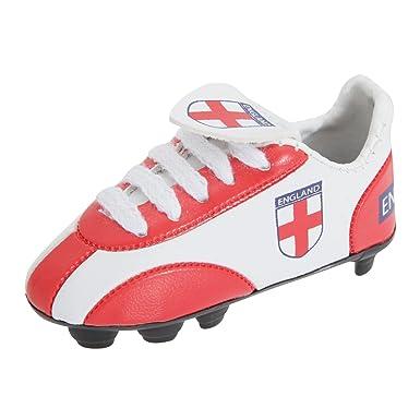 Amazon.com: England FA oficial llavero de arranque, Rojo ...