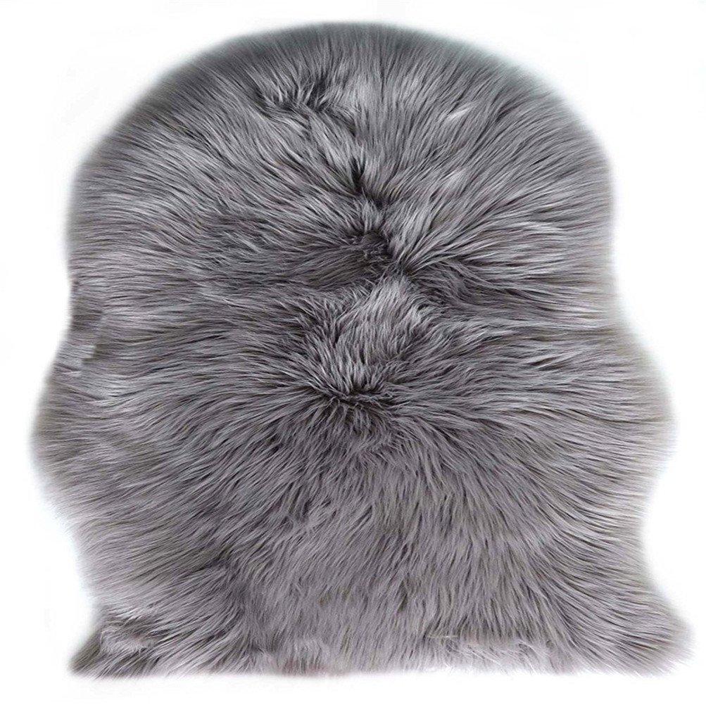 Liebenswert Tierfell Teppich Dekoration Von Kaihong Spitzenqualität Lammfellimitat Teppich, 60 X 90