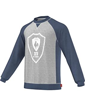 Homme Sweat Xv FrStaille De Shirt Gris Adidas France Fabricant mwn0Nv8O