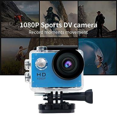 Amazon.com: 30 M impermeable Deporte dv-mini Deportes 1080P ...