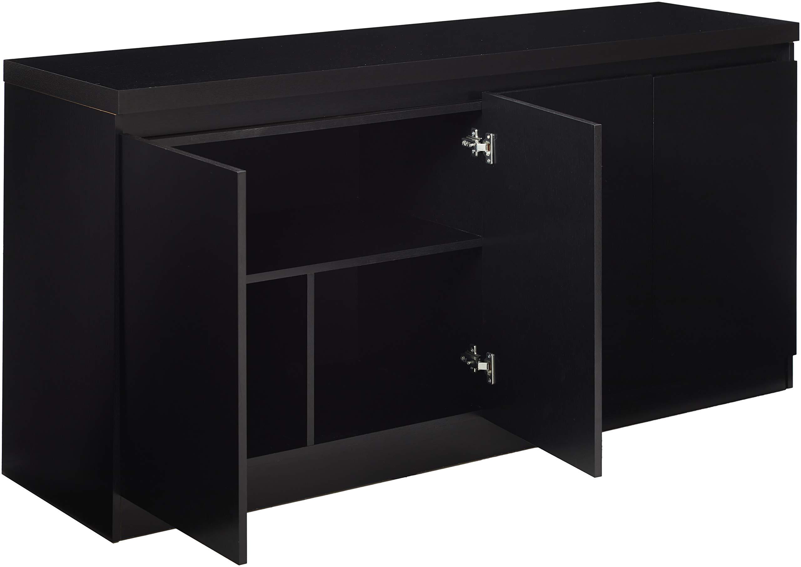 Manhattan Comforts 100653-MC Viennese Sideboard Black Matte by Manhattan Comforts (Image #3)