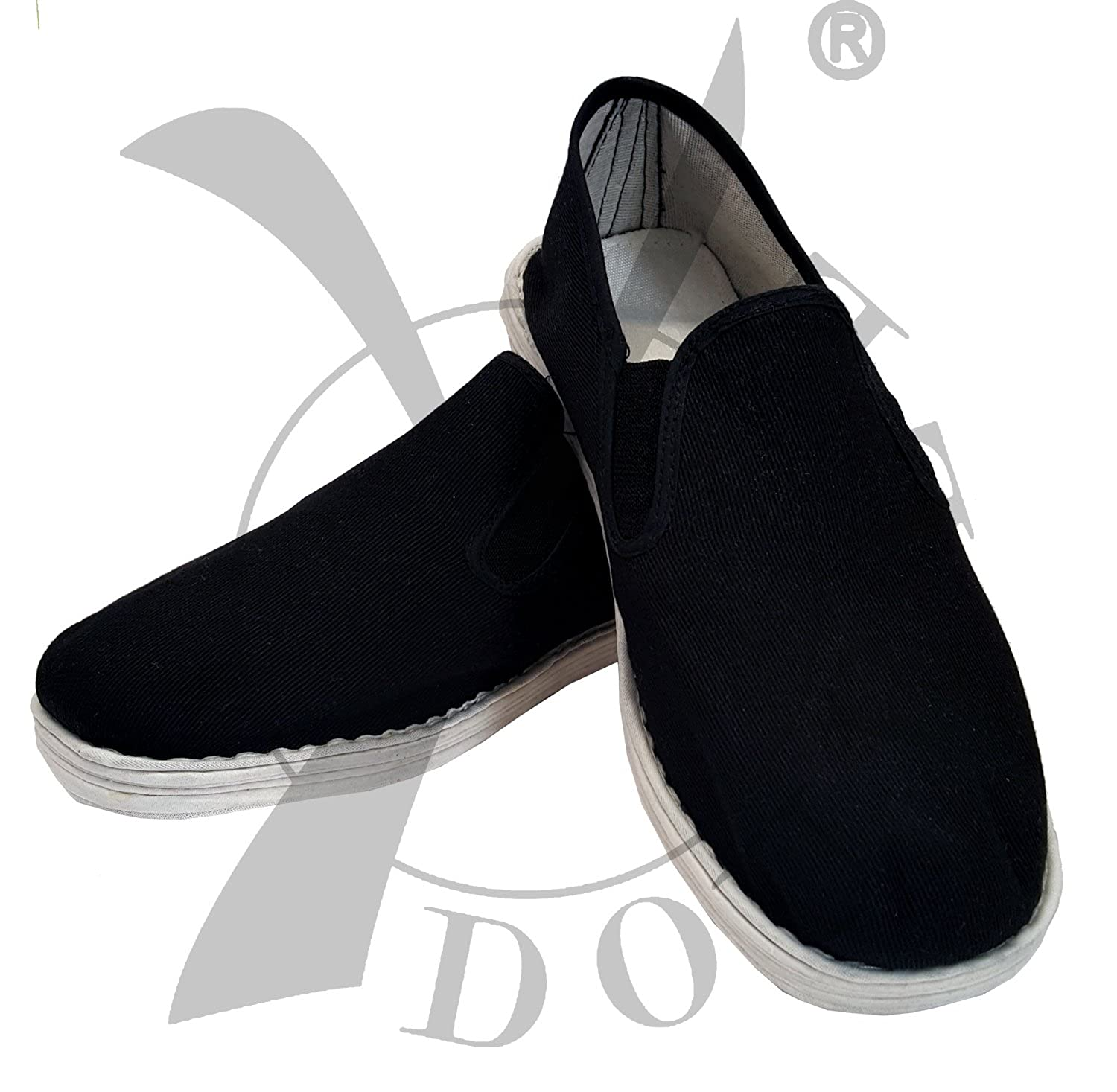 Et Double-wu Dang Chaussures Tai Chi, Noir, Taille 4