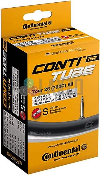 Continental MTB 29 Bike Tube 29 x 1.75-2.5 60mm Presta Black