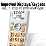 Panasonic DECT 6.0 Expandable Cordless Phone with
