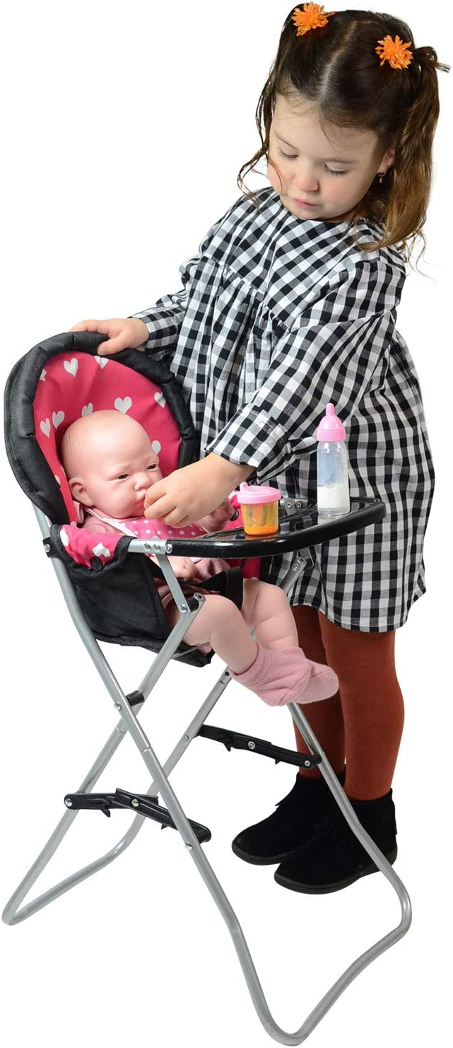 Pink The New York Doll Collection A166 18 Doll High Chair