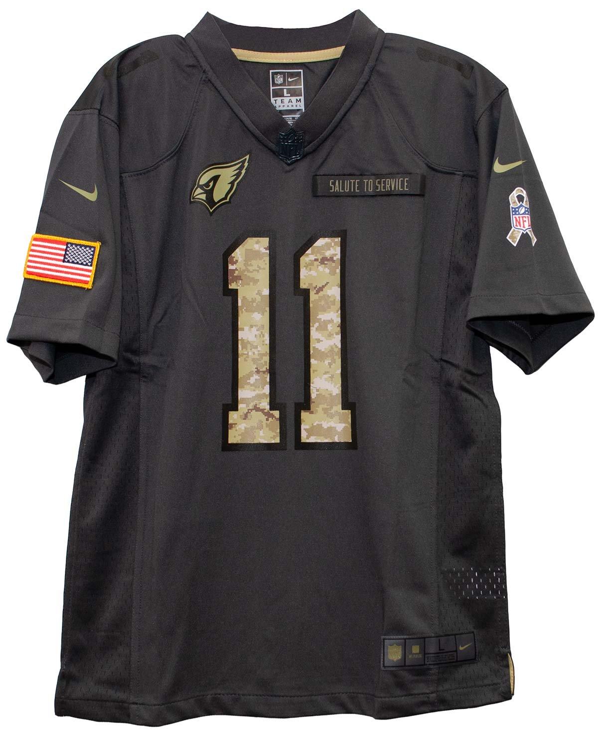 innovative design 94bb1 26c50 Amazon.com : Nike Larry Fitzgerald Arizona Cardinals Salute ...