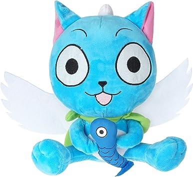 CoolChange Peluche de Happy de Fairy Tail: Amazon.es: Juguetes y juegos