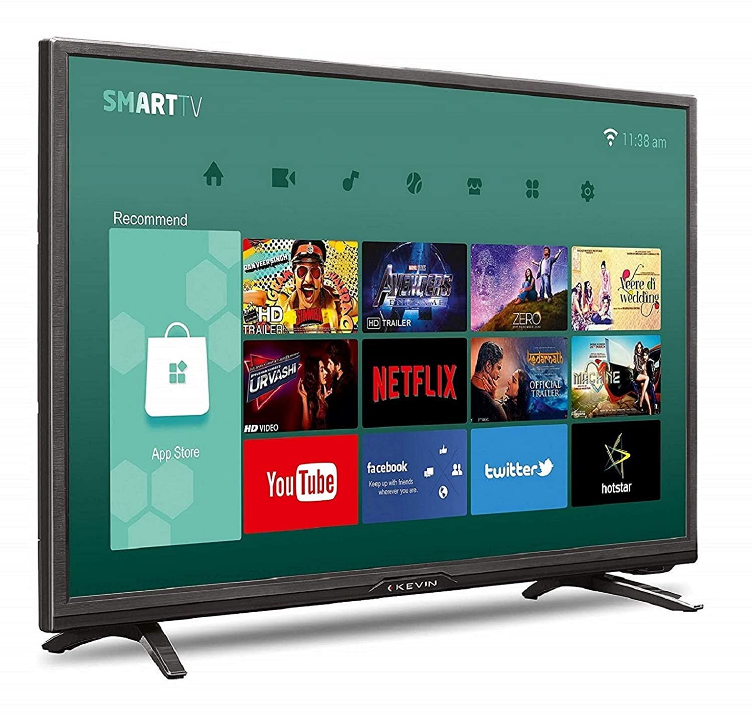 007ddb6d8cf Kevin 80 cm HD Ready LED Smart TV K32CV338H  Amazon.in  Electronics