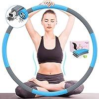DUTISON Hoelahoep Fitness Volwassenen Sports - Professionele Fitnessontwerp Afneembaar 8 Secties voor Kinderen Training…