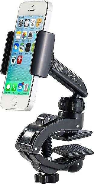 Callstel COCHE - smartphone-soporte con pinza de tornillo y ...