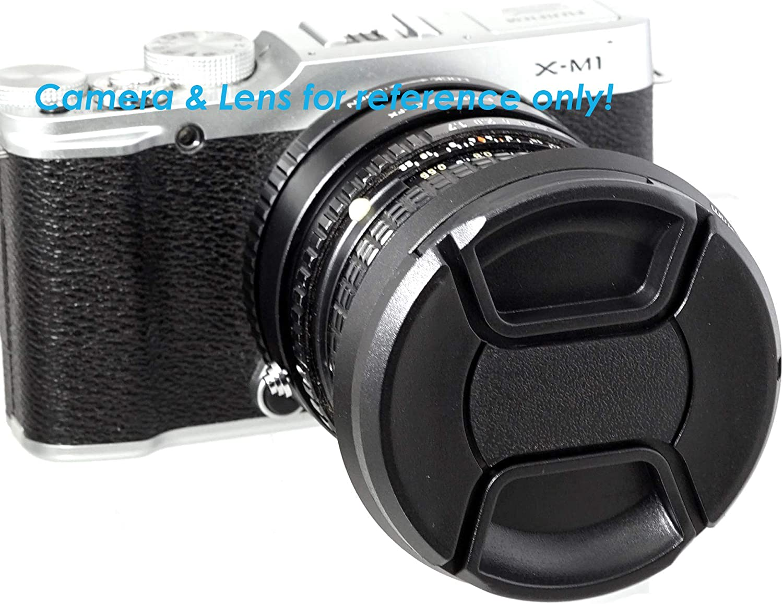 52 mm Hood Fotasy 52mm Slim Low Profile Designed Metal Curved Metal Screw-in Lens Hood Shade for Leica Leitz Voigtlander Canon Fuji Nikon Olympus Panasonic Pentax Sony