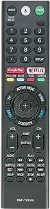 RMF-TX300U Replace Remote Sub RMF-TX200U RMF-TX201U Voice Control fit for Sony Smart 4K TV 149331811 XBR-55X850S XBR-55X930D XBR-65X850D XBR-65X930D XBR-75X850D XBR-75X940D XBR-85X850D