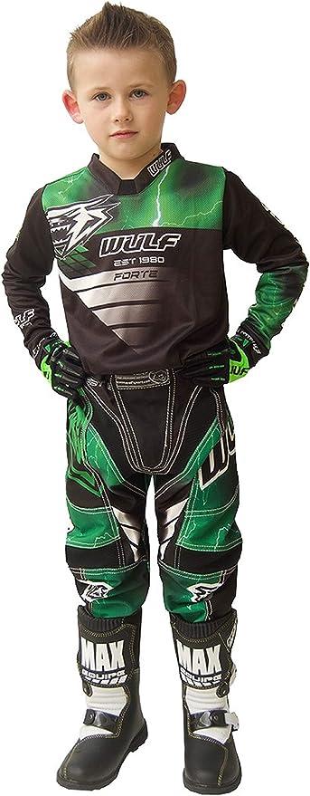 Traje de moto para ni/ños de 0 a 2 a/ños Wulfsport 2020 Forte