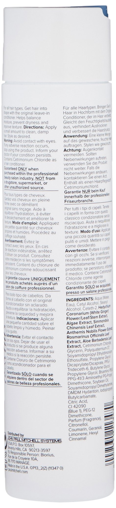 Paul Mitchell The Conditioner,10.14 Fl Oz by Paul Mitchell (Image #3)