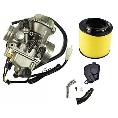Carburetor And Air Filter for HONDA 350 TRX350 Rancher 350ES 350FE 350FMTE 350TM CARB 2000-2006: Automotive