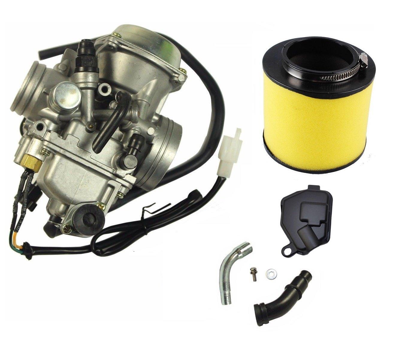 Carburetor And Air Filter for HONDA 350 TRX350 Rancher 350ES 350FE 350FMTE 350TM CARB 2000-2006 HUAYOUQI