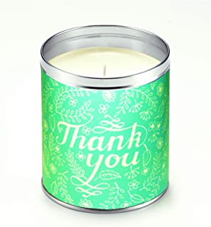 product image for Aunt Sadies Greeting Card Thank Candle, White