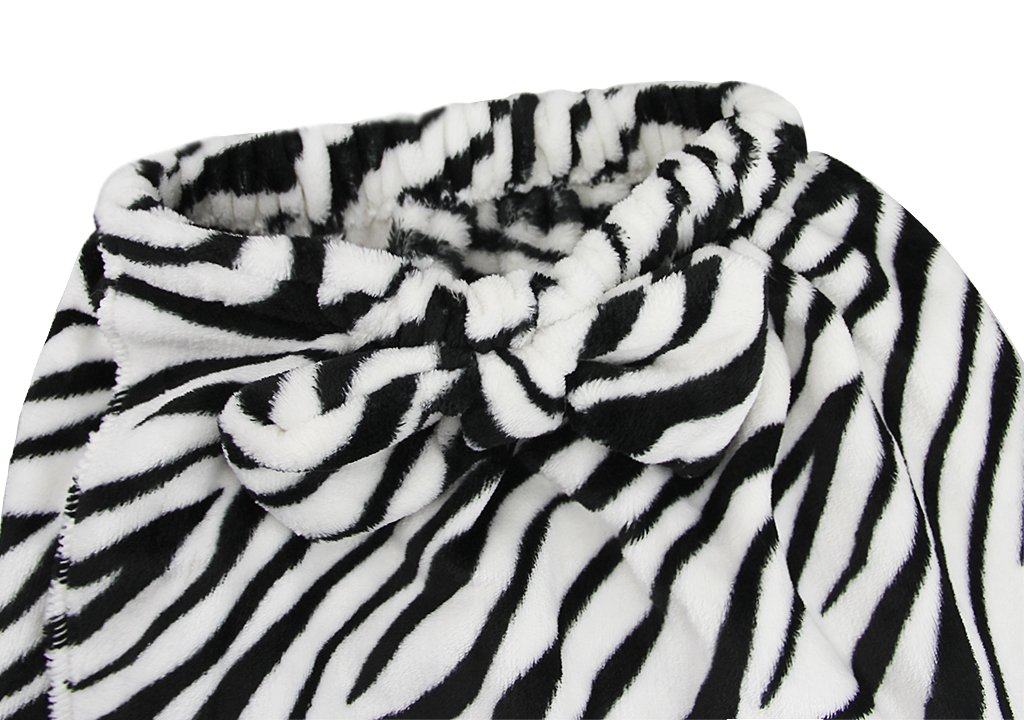 Kids Girls Bath Wrap Towels with Makeup Headband, Soft Warm Flannel Fleece Terry Bowknot Elastic Spa Beach Pool Shower Bath Robe Towel Wrap Cover Up Bathing Tube Top Dress Bathrobe Gown Sleepwear by Fakeface (Image #5)